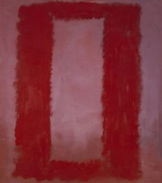 Mark Rothko, Red on Maroon, Mural Section 4 1959. Tate © 1998 Kate Rothko Prizel & Christopher Rothko ARS, NY and DACS, London