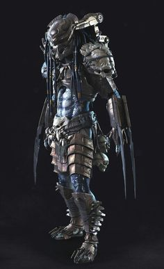 Top 10 Predator Clans from the Predator franchise, including the Lost Tribe, Elite Clan, Killer Predator Clan and the Super Predator Clan Alien Vs Predator, Predator Costume, Predator Cosplay, Wolf Predator, Predator Movie, Predator Alien, Arte Alien, Alien Art, Wolverine