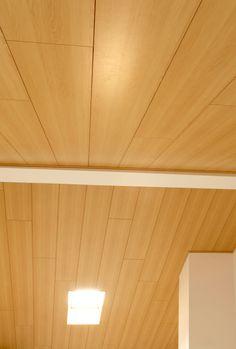 THERMOCHIP® DECO melamina en haya, la decoración más acogedora para tus techos | #THERMOCHIP #paneles #madera #melamina #deco #arquitectura