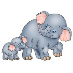 Résultat d'images pour Mom and Baby Elephant Cartoon Clip Art Baby Elephant Images, Mother And Baby Elephant, Cartoon Elephant, Elephant Theme, Elephant Love, Elephant Art, Cute Cartoon Characters, Cartoon Pics, Cartoon Clip