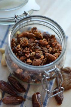 Hjemmelavet müsli uden sukker, sødet med æblemos - LCHF