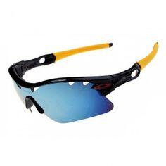17c4293864 Oakley Radarlock Pitch Sunglasses Black Yellow Frame Jade Iridium Lens Ray  Ban Sunglasses Outlet