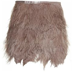 Top shop- feather skirt