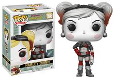 DC Comics Bombshells: Black and White Harley Quinn Pop figure by Funko, Think Geek exclusive