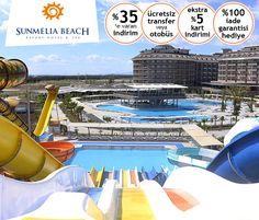Sunmelia Beach Resort Hotel & Spa'da ERKEN REZERVASYON Fırsatlarımız Devam Ediyor! Bilgi ve Rezervasyon: ☎ 0212 211 40 20 - 21