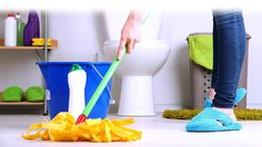 Cleaning the bathroom is a gross job. Use these 10 bathroom cleaning tips & tricks to make it less disgusting and to easily keep your bathroom clean on a regular basis. Bathroom Cleaning Services, Residential Cleaning Services, Bathroom Cleaning Hacks, House Cleaning Services, Speed Cleaning, Oven Cleaning, Cleaning Tips, Daily Cleaning, Toilet Bowl Stains