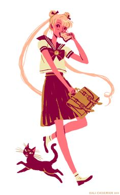 Did you know that when I was in 5th grade, I legitimately believed that I was going to turn into Sailor Moon on my 14th birthday? I watched the show every morning, intensively collected and printed pictures from the then-prehistoric internet, drew paper tiaras and communicators for all my friends, and we all assumed sailor scout identities (I was Sailor Moon, of course).     Recently I've been rewatching the series subtitled, as an adult, and despite some of the weirdness (Tuxedo mask is in