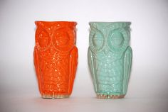 Owl vase. I must admit, I have an obsession.