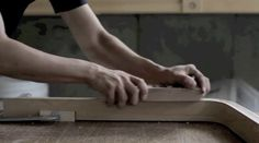 The making of the Blocco Chair prototype. It shows the whole process of bent-lamination with birch veneers. The finished prototype is to be displayed at Tokyo Designers… Woodworking Techniques, Industrial Design, Sketching, Chairs, Branding, Places, Life, Inspiration, Furniture