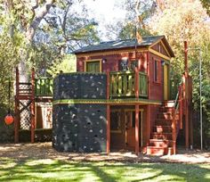 Boys Outdoor Clubhouse Really Cool Boys Forts Kids Playhouse