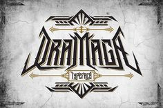 Dramaga Typeface + Extras by DikasStudio on @creativemarket