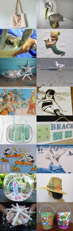 beach party by primitivearts on Etsy--Pinned with TreasuryPin.com
