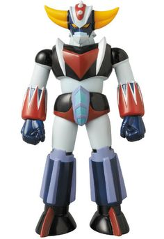 Medicom adds to their Dynamic Heroes line with this anime edition figure of the famous UFO Robot Grendizer. Originally designed by the great Go Nagai, UFO Robot Grendizer originally ran as a super robot TV series from 1975-77 before being revived in the 2002 manga Dynamic Super Robot Wars and then again in 2004's Dynamic Heroes. Whether you want to take yourself back to your youth or add to your s...