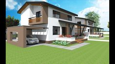 Small two story house design . Model NC 24. 70.55 sq.m. first floor - 75...