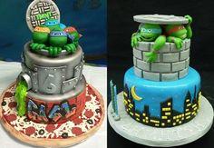 Imagens: http://tartasdecoradasfondant.net/ e http://www.cakecentral.com/