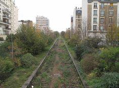 Les sentiers natures de la petite ceinture et l'envol d'un aigle au dessus de Paris / France Inter