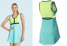 Maria Sharapova's #Nike dress for the 2017 Australian Open