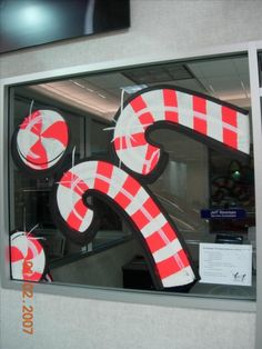 Commercial Holiday Window Painting | to Z Window Painting Inc. today for a free estimate and Holiday Window ...