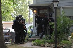 Kansas City Missouri Police Department's Tactical Response Team... 1 of many Violent Crime Initiatives