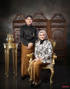 Klasik Javanese Wedding, Indonesian Wedding, Sepang, Pre Wedding Photoshoot, Wedding Templates, Folk Costume, Vintage Wear, Kebaya, People Around The World