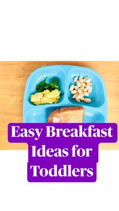 Toddler Friendly Meals, Healthy Toddler Meals, Toddler Lunches, Healthy Eating For Kids, Toddler Food, Healthy Toddler Breakfast, Breakfast For Kids, Breakfast Ideas, Meals For Toddlers