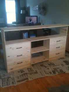 The Joy of Doing Things Badly: Tutorial Tuesday- IKEA Rast Hack Sideboard