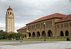 Stanford campus - in Palo Alto, California
