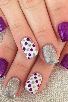 Simple Short Nail Design Ideas