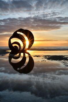The Shell, Cleveleys by Jason Connolly Breath Of Fresh Air, Gods Creation, Kids Writing, Great Britain, Fairy Tales, Shells, Sculptures, England, Landscape