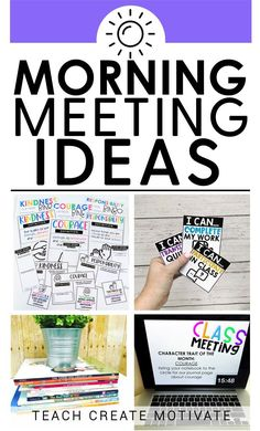 Have you been looking for a way to incorporate morning meetings into your classroom routine? Or maybe you already do, but you're looking for some ideas to spice it up! I'm filling you in on how I like to run morning meetings, exactly how it can look in your classroom, as well as different activities you can start implementing TODAY!