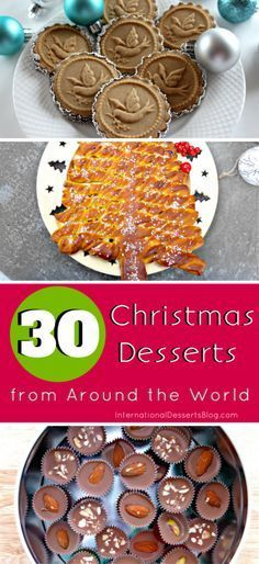 30 Creative Easy And Impressive Christmas Dessert Ideas Recipes From Around The World