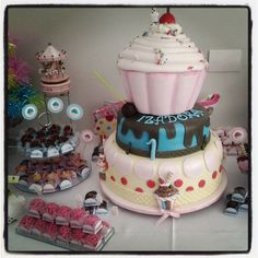 Bolo Tema Cup Cake