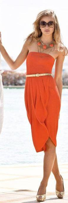 Burnt Orange | Summer Chic.
