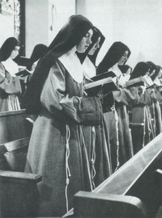 "Franciscan ""Poor Clare"" nuns (cloistered),  Founded by St.Francis & St Clare  of Assisi, Italy in 1212 AD"