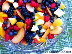 Winter Fruit Salad by Cooking with K | Kay Little