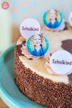 Torte zur Einschulung, Einschulung Torte, Tortenaufleger, Fotooblaten