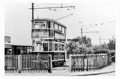 Tram at Colman rd terminus, Leicester
