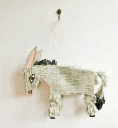 Donkey Pinata by Lieschen Mueller. [I could not bring myself to batter him with a stick]
