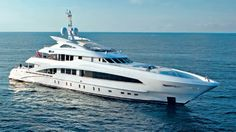"""50-метровая моторная яхта """"Monaco Wolf"""" от голландской верфи Heesen Yachts"""
