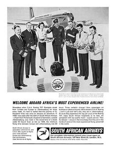 1964 South African Airways ad | by totallymystified