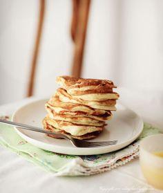 White Plate: Śniadanie i podwieczorek: Placuszki pomarańczowe