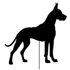 Great Dane Garden Stake or Wall Hanging <3 Click the VISIT button to enter the website
