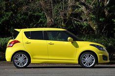 2014 Suzuki Swift Yellow