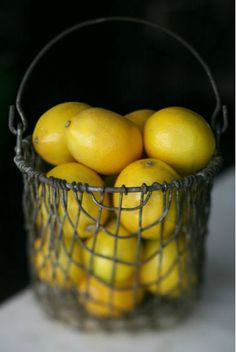Lemons -- Our Calif. relatives have lemon trees. Perhaps in God's new world we will all be able to have lemon trees.
