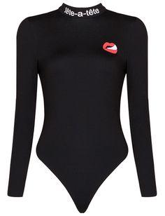 Dream it Wear it - Long Sleeve Tete a Tete Bodysuit Black, $130.34 (http://www.dreamitwearit.com/long-sleeve-tete-a-tete-bodysuit-black/)