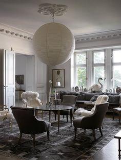 Espectacular casa en Estocolmo (no el típico estilo nórdico)   Etxekodeco