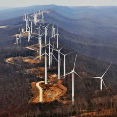 And our president claims this is a good alternative energy, so mining coal wont ruin our mountains?:(