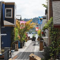 floating houses houseboats seattle portage bay