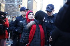 Women's March Organizers Arrested During 'A Day Without A Woman' Rally