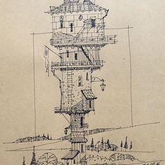 #sketchbook #sketch #archsketch #draw #howtodraw